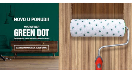 Novi valjci - Green Dot