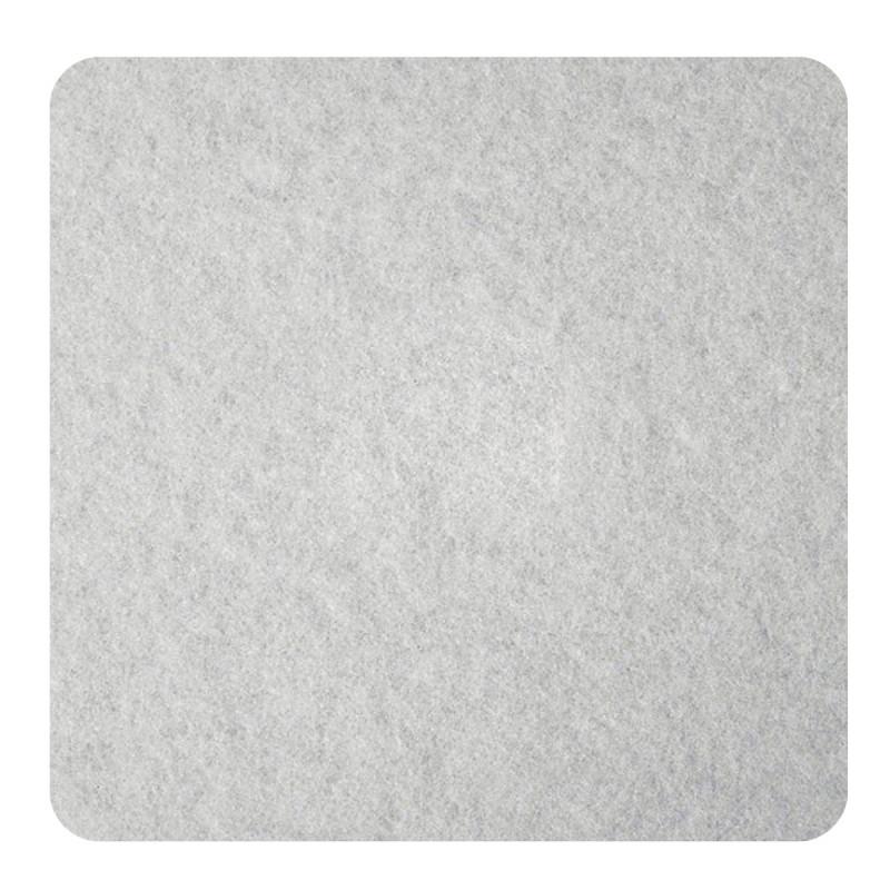 Samoljepljive podloške od filca, bijele 100 x 100 x 3mm