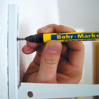 Marker obilježivač za bušenje rupa