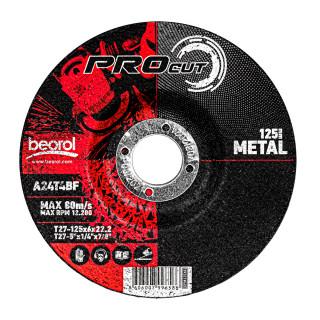 Brusna ploča za metal ø125x6mm