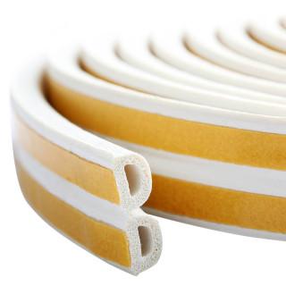 Samoljepljiva dihtung traka 6m, D-profil, bijela