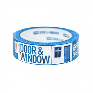 Krep traka za zaštitu vrata i prozora 30mm x 33m, 80ᵒC