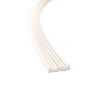 Samoljepljiva dihtung traka 6m, E-profil, bijela