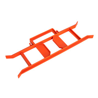 Jednostruka prenosna priključnica, 20m narandžasta