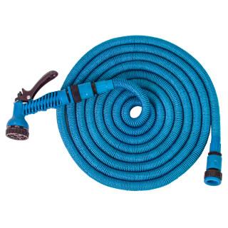 Baštensko rastegljivo crijevo 15m, plavo