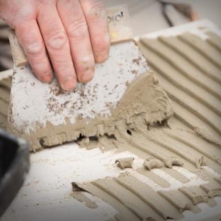 Gleterica za keramičare nazubljena, 180mm