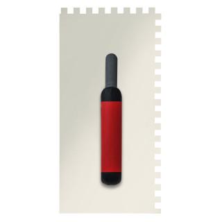 Gleterica Inox, profesional soft drška nazubljena 8x8mm