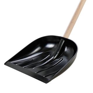 Lopata za snijeg i žito, 40x40cm, crna