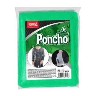 Poncho, zeleni