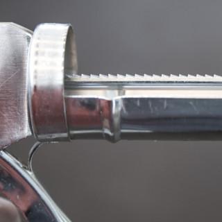 Pištolj za silikon hromirani