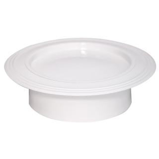 Rozetna bijela ø119mm