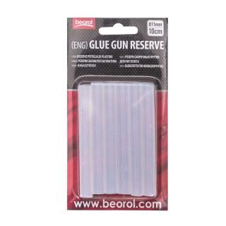 Rezerve pištolja za plastiku 11mm x 10cm, bijela