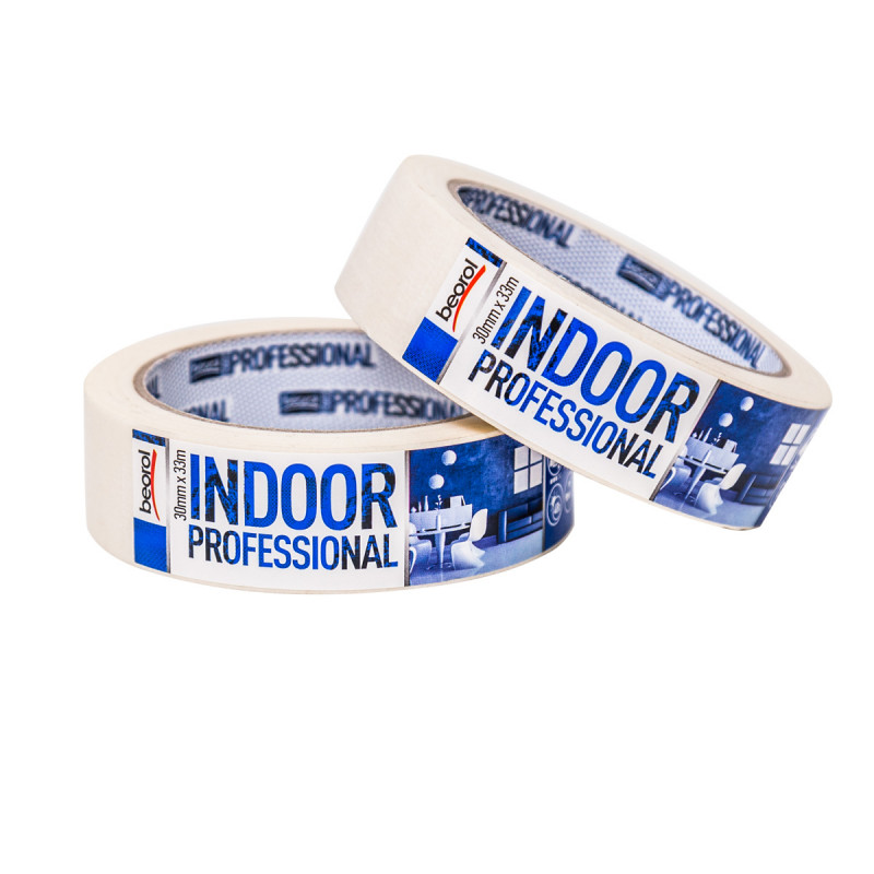 Krep traka Indoor Professional, 30mm x 33m, 70ᵒC