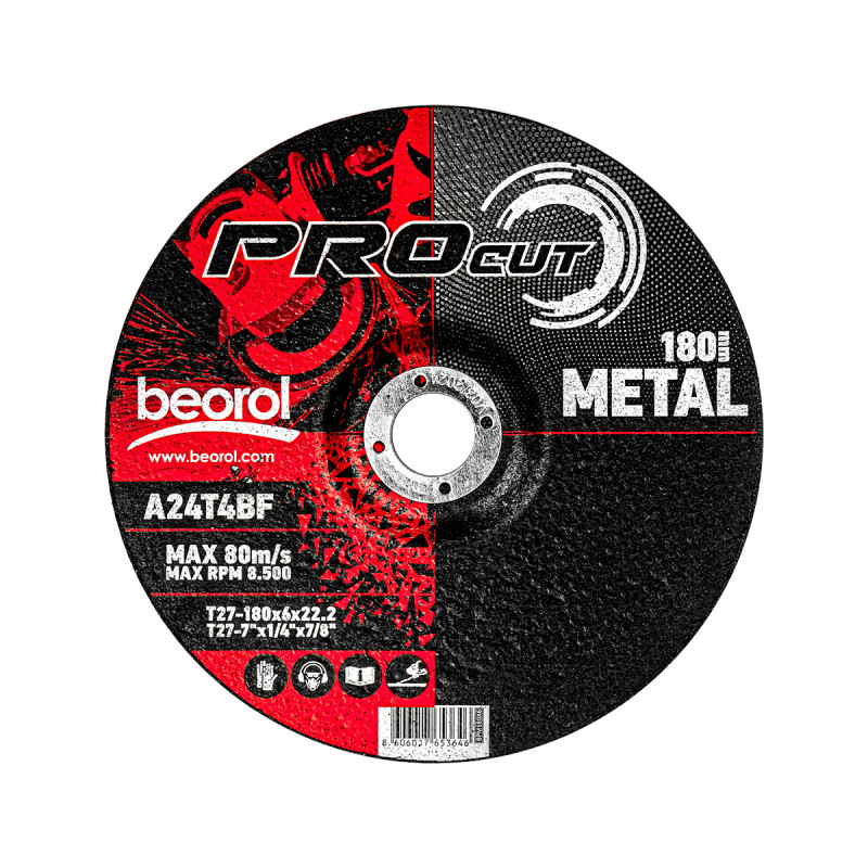 Brusna ploča za metal ø180x6mm