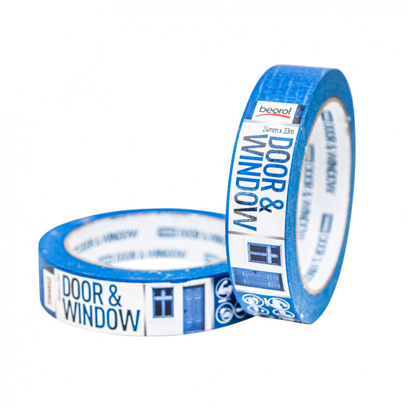 Krep traka za zaštitu vrata i prozora 24mm x 33m, 80ᵒC