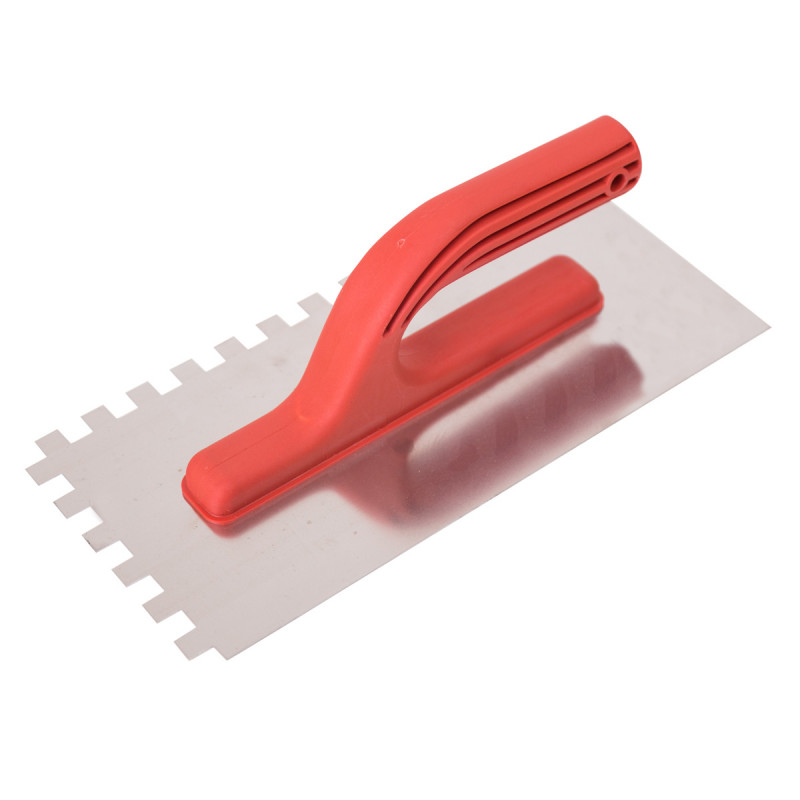 Gleterica Inox, nazubljena PVC ručka 10x10mm