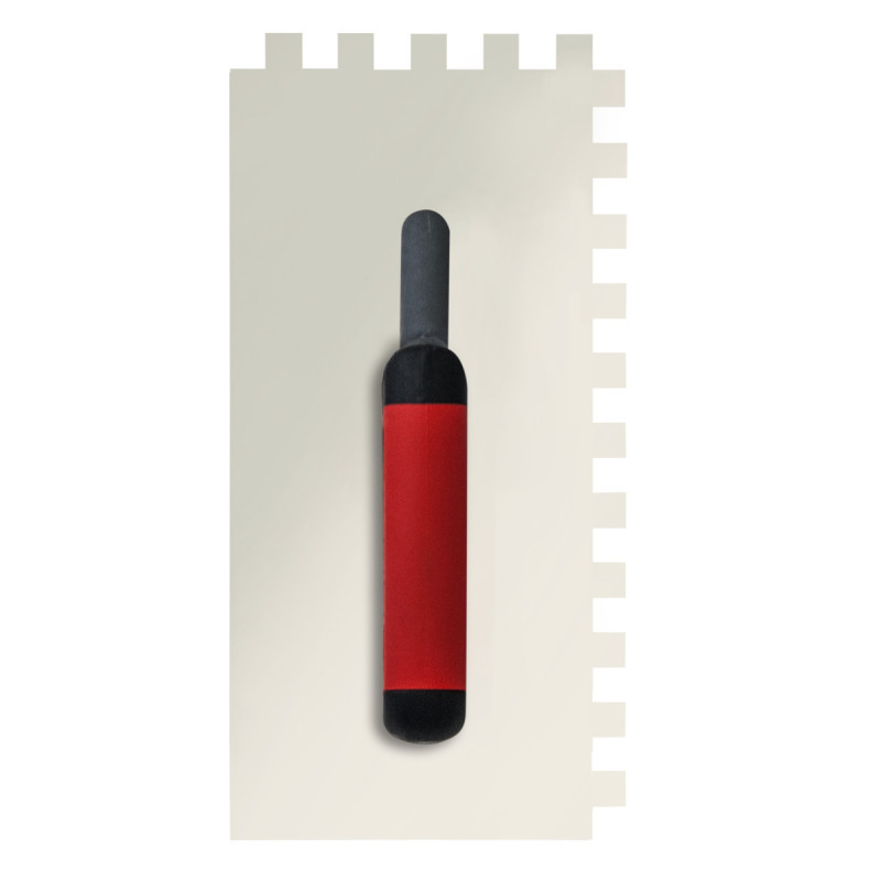 Gleterica nerđajuća, profesional soft drška nazubljena 12x12mm