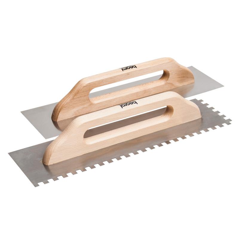 Gleterica nerđajuća, 480x130 mm, drvena drška