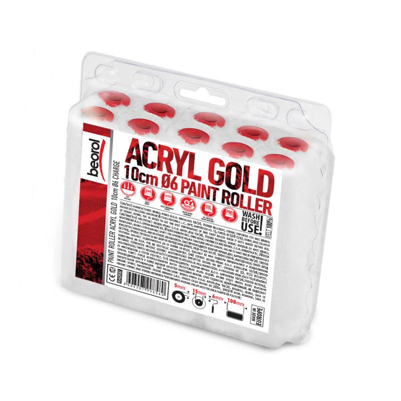 Radijator valjak Acryl Gold 10cm rezerva