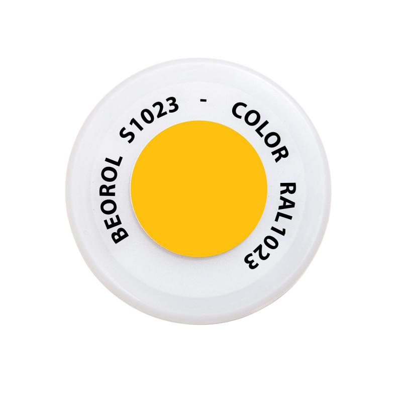 Sprej žuta Traffico RAL1023