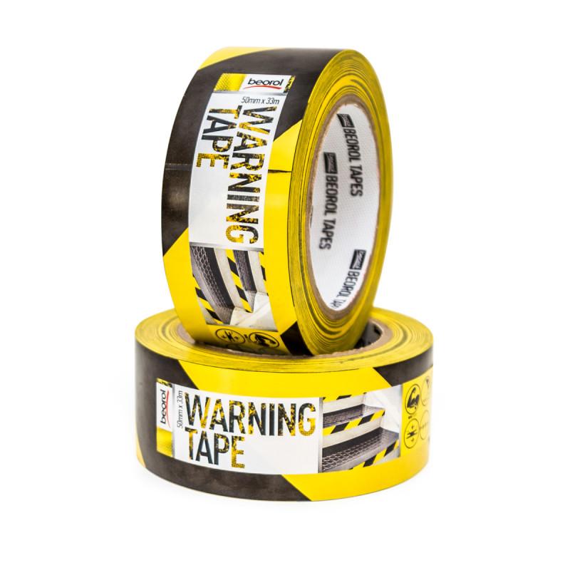 Selotejp za obilježavanje 50mm x 33m, žuto/crni