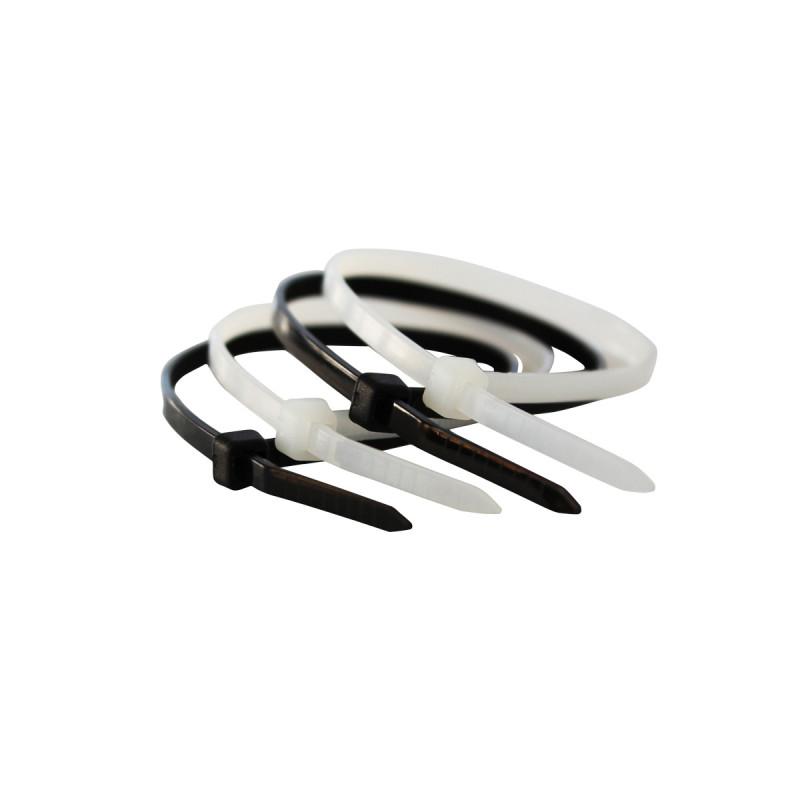 Vezica plastična crna 3.6x200mm 100kom