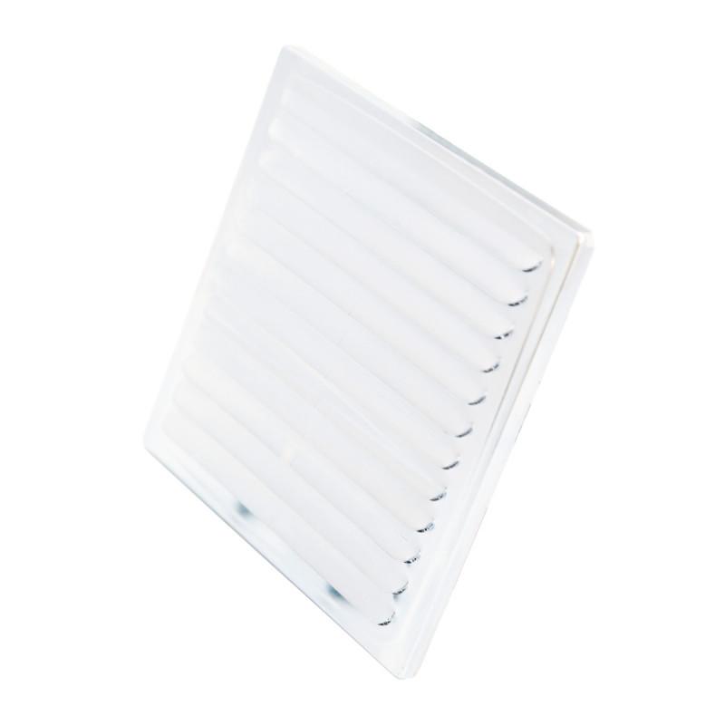 Ventilaciona rešetka bijela ø100, 150x150mm bn
