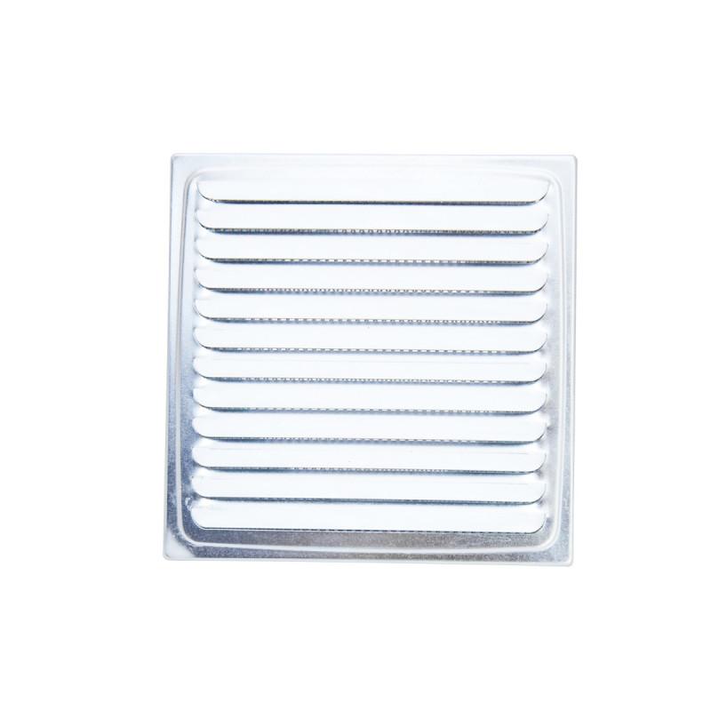 Ventilaciona rešetka pocinkovana ø100, 150x150mm